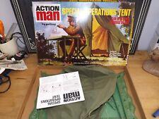 vam ORIGINAL VINTAGE Action man Special Operations Tent Boxed excellent