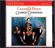 CANADIAN BRASS Plays GERSHWIN Piano Preludes Porgy and Bess I Got Rhythm RCA CD