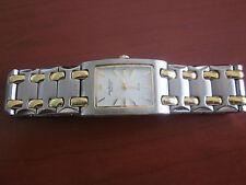 Ladies Jules Jergensen Silver and Gold Watch