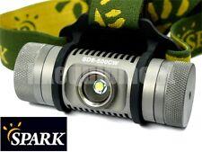 Spark SD6-500CW Cree XP-L CW LED Headlamp Headlight+Magnetic Pad+Clip+Reflector