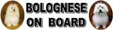 BOLOGNESE ON BOARD Car Sticker by Starprint