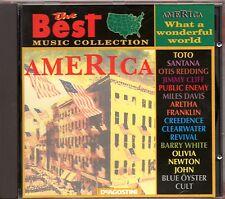 TOTO Barry White SANTANA Aretha Franklin MILES DAVIS CD WHAT A WONDERFUL WORLD