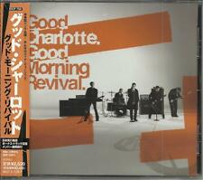 GOOD CHARLOTTE Morning Revival w/ BONUS TRX UNRELEASE & REMIX JAPAN CD SEALED