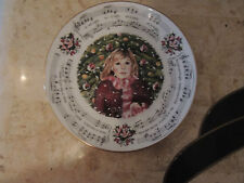 1983 Royal Doulton Christma 00004000 s Carols Collector Plate Silent Night 1st in series 8