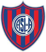 "San Lorenzo de Almagro Argentina Football Soccer Car Bumper Sticker Decal 4""X5"""