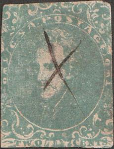 Confederate CSA #3 Three Cent Stamp