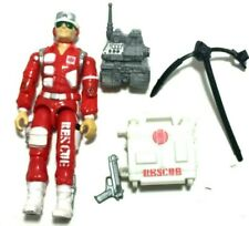 GI JOE ~ 1986 LIFELINE ~ RESCUE TROOPER MEDIC ~ 100% complete