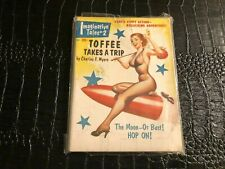 IMAGINATIVE TALES #2 TOFFEE TAKES A TRIP vintage pulp magazine - GGA - PINUP