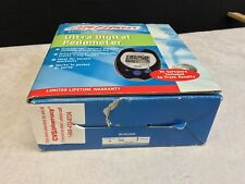 Life Fitness Ultra Digital Pedometer with pc software  05042
