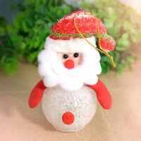 Xmas Gift Kids LED Snowman Light Christmas Tree Hanging Ornaments Decoration