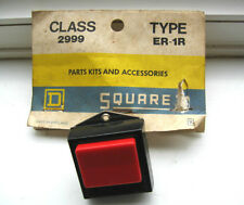 SQUARE D CLASS 2999 TYPE ER-1R PUSH BUTTON ASSEMBLY  ENGINEERING SWITCH LEGEND