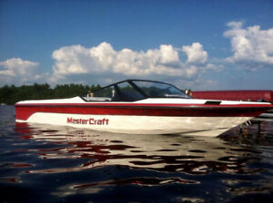 1990 MASTERCRAFT PROSTAR 190 CLASSIC SKI BOAT +TRAILER FORD 351 AWESOME INTERIOR