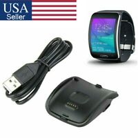 Charging Cradle Smart Watch Charger Dock For Samsung Galaxy Gear S SM-R750 Black