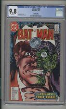 Batman #397 CGC 9.8 (W) Fourth Printing Highest Graded Copy DC 1986 Two-Face