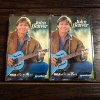 The Very Best Of John Denver Cassettes - Set of 2 Tapes (1994) * Vintage!