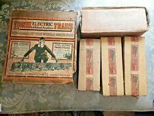 PREWAR LIONEL STANDARD PASSENGER SET W BOX 4 Trains 13 pices of Track 8E 337 338