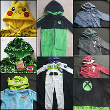 BNWT PRIMARK  ALL IN ONE PYJAMAS KIDS SLEEPSUIT - MINECRAFT POKEMON XBOX