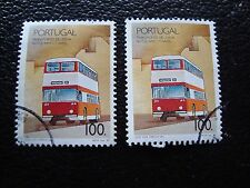 PORTUGAL - timbre yvert et tellier n° 1768 x2 obl (A28) stamp (K)