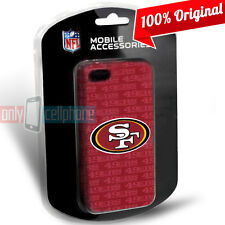 San Francisco 49ers iPhone 5 5S SE Officially Licensed NFL Slim Hard Cover Case
