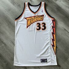 Team Issue Antawn Jamison 2000-01 Golden State Warriors Puma 52 +4 Jersey Signed