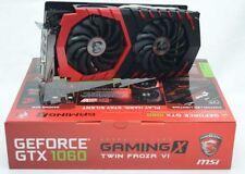 MSI NVIDIA GeForce GTX 1060 gioco x 6 Gb GDDR 5 PCI Express 3.0 Scheda Grafica