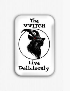 The Witch Fridge Magnet (1.73x2.67 inch,black phillip,live deliciously,vvitch)