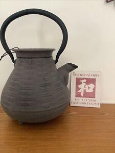 The Tetsubin Cast iron Teapot