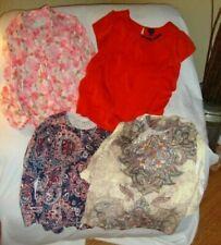 Lot of 4 Pcs Name Brand Clothing Lot Cardigan Shirts Tops Blouses Women Sz 1X