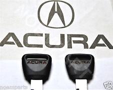 2 x Genuine OEM Acura Integra CL TL Vigor Logo Master Spare Key Blank RED