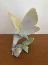Herend Porcelain Butterfly On Flowers Height 15cms Hallmarked