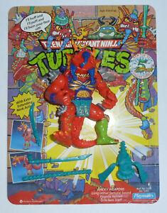 1992 TMNT Teenage Mutant Ninja Turtles figure Hothead - complete