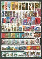 DDR   1977 gestempelt  komplett  mit allen Einzelmarken