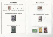 Argentina Airpost & Semipostal Collection, On 14 Album Pages, 1931-1973