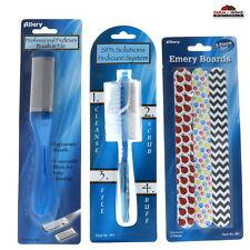 Foot File Pumice Stone Brush Emery Board Pedicure Manicure Set Gift ~ New