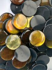 Green Gold Abalone 20 MM Big Lot SALE 100 Pcs