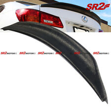 Real Carbon Fiber Duck Tail Trunk Spoiler Lip Wing fits 06-13 Lexus IS250 IS350