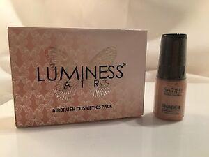 New Luminess/Stream Air Airbrush Satin Makeup Shade 4 Foundation 25oz Free Ship