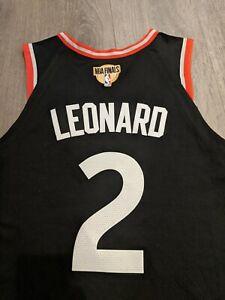BNWT Nike Kawhi Leonard Toronto Raptors FINALS PATCH Authentic Jersey Size 48/L