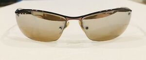 RAY BAN Rimless Sunglasses RB3183 014/84 Bronze POLARIZED - Extra Temple tips