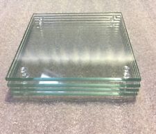4mm Thick Glass Coasters Set Of 4