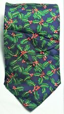 Alynn Neckwear Holly Neck Tie Men Multi Color 100% Silk Flower Pattern