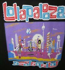 Lollapalooza 2017 Concert Tour T-Shirt Size Medium