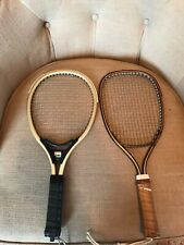 Racketball / Squash Rackets - Lot of 2 - Golden Tiger & Olymped III - Vintage