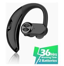Bluetooth Headset [36Hrs Playtime, 2 Batteries] Wireless Bluetooth...