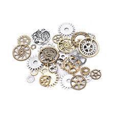 50g Watch Parts Steampunk Cyberpunnk Cogs Gears Diy Jewelry Craft Art Hot CH