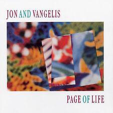 Page of Life [Germany Bonus Tracks] by Jon & Vangelis (CD, Aug-1991, Bmg/Arista)