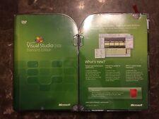Microsoft Visual Studio 2008 Standard Edition 127-00166 Brand NEW Factory Sealed