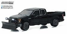 1:64 GreenLight *BLACK BANDIT R16* 2015 Ford F150 Pickup Truck w/SNOWPLOW *NIP*