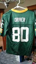 PRE-OWNED NFL GREEN BAY PACKERS DONALD DRIVER REEBOK JERSEY YOUTH SIZE LARGE