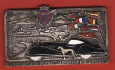 PLAQUE ÉMAILLÉE - CONCOURS D'ÉLÉGANCE - AUTOMOBILES CLUB DE CANNES 06